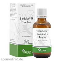 Biodolor H Tropfen, 50 ML, Homöopathisches Laboratorium Alexander Pflüger GmbH & Co. KG