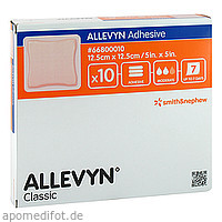 Allevyn Adhesive 12.5x12.5 haftende Wundaufl., 10 ST, Actipart GmbH