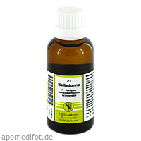21 Belladonna F Komplex, 50 ML, Nestmann Pharma GmbH