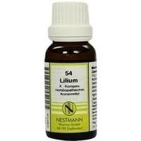 54 Lilium K Komplex, 20 ML, Nestmann Pharma GmbH