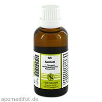 63 Aurum F Komplex, 50 ML, Nestmann Pharma GmbH