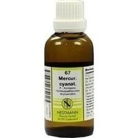 67 Mercur. cyanat. K Komplex, 50 ML, Nestmann Pharma GmbH
