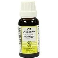 243 Dioscorea F Komplex, 20 ML, Nestmann Pharma GmbH