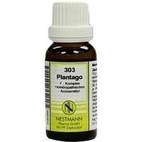 303 Plantago F Komplex, 20 ML, Nestmann Pharma GmbH