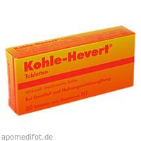 KOHLE HEVERT, 20 ST, Hevert Arzneimittel GmbH & Co. KG