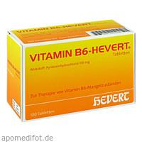 VITAMIN B6 HEVERT, 100 ST, Hevert Arzneimittel GmbH & Co. KG