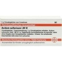 LM ACIDUM SULFUR VI, 5 G, Dhu-Arzneimittel GmbH & Co. KG