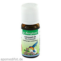 Citronell Öl, 10 ML, Bergland-Pharma GmbH & Co. KG