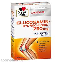 Doppelherz Glucosamin-Hydrochlorid 750mg syst.Tbl., 60 ST, Queisser Pharma GmbH & Co. KG