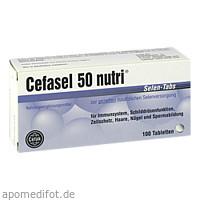 Cefasel 50 nutri Selen-Tabs, 100 ST, Cefak KG