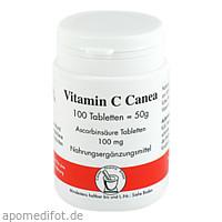 ASCORBINSAEURE 100MG CANEA, 100 ST, Pharma Peter GmbH