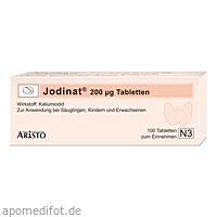 Jodinat 200ug Tabletten, 100 ST, Aristo Pharma GmbH
