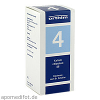 Biochemie Orthim NR4 Kalium chloratum D 6, 400 ST, Orthim GmbH & Co. KG