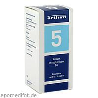 Biochemie Orthim NR5 Kalium phosphoricum D 6, 400 ST, Orthim GmbH & Co. KG