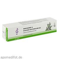 Biochemie 6 Kalium sulfuricum D 6, 100 ML, Bombastus-Werke AG