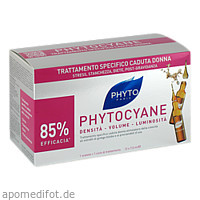 PHYTO PHYTOCYANE Kur Haarausfall, 12X7.5 ML, Laboratoire Native Deutschland GmbH