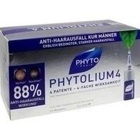 PHYTO PHYTOLIUM 4 Kur Haarausfall, 12X3.5 ML, Laboratoire Native Deutschland GmbH