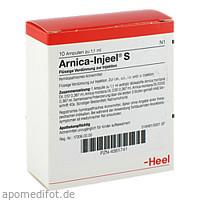 ARNICA INJ S, 10 ST, Biologische Heilmittel Heel GmbH