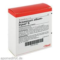 ARSENICUM ALB INJEEL S, 10 ST, Biologische Heilmittel Heel GmbH