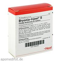 BRYONIA INJ S, 10 ST, Biologische Heilmittel Heel GmbH