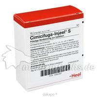 CIMICIFUGA INJEEL S, 10 ST, Biologische Heilmittel Heel GmbH