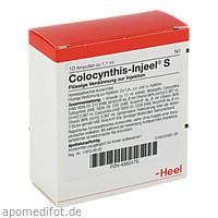 COLOCYNTHIS INJEEL S, 10 ST, Biologische Heilmittel Heel GmbH