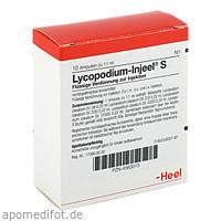 LYCOPODIUM INJ S, 10 ST, Biologische Heilmittel Heel GmbH