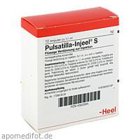 PULSATILLA INJ S, 10 ST, Biologische Heilmittel Heel GmbH
