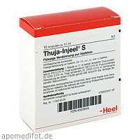 THUJA INJ S, 10 ST, Biologische Heilmittel Heel GmbH