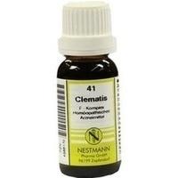 CLEMATIS F KOMPL 41, 20 ML, Nestmann Pharma GmbH