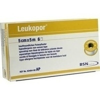 LEUKOPOR 5MX5CM, 6 ST, Bsn Medical GmbH