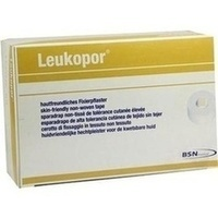 LEUKOPOR 9.2MX2.5CM, 12 ST, Bsn Medical GmbH