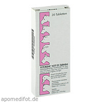 VETOKEHL NOT. D 5 Tabletten vet., 20 ST, Mastavit GmbH