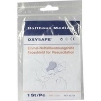 BEATMUNGSTUCH Oxysafe, 1 ST, Holthaus Medical GmbH & Co. KG