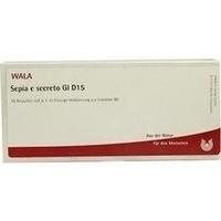 SEPIA E SECRETO GL D15, 10 × 1 Milliliter, Wala Heilmittel GmbH