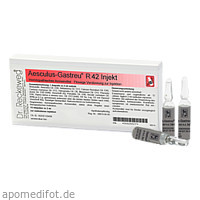 AESCULUS GASTREU R42 INJEK, 10X2 ML, Dr.Reckeweg & Co. GmbH