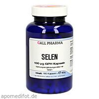 Selen 100ug GPH Kapseln, 180 ST, Hecht-Pharma GmbH