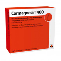 CORMAGNESIN 400, 10X10 ML, Wörwag Pharma GmbH & Co. KG