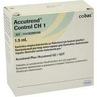 ACCUTREND CONTROL CH 1, 1X1.5 ML, Roche Diagnostics Deutschland GmbH