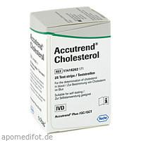 ACCUTREND CHOLESTEROL, 25 ST, Roche Diagnostics Deutschland GmbH