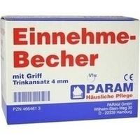 EINNEHMEBECHER KST M GRIFF 4MM, 1 Stück, Param GmbH