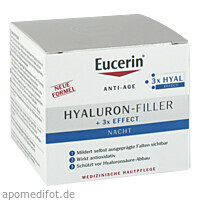 Eucerin Anti-Age Hyaluron-Filler Nacht Tiegel, 50 ML, Beiersdorf AG Eucerin