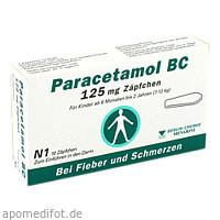 Paracetamol BC 125mg, 10 ST, Berlin-Chemie AG