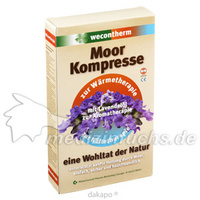 Wecontherm Moor Kompresse Rücken, 1 ST, Weber Consult