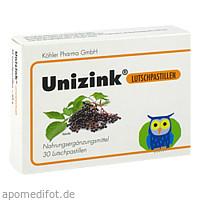 Unizink Lutschpastillen, 30 ST, Köhler Pharma GmbH