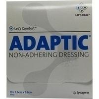 ADAPTIC 7.6x7.6cm feuchte Wundauflage, 10 ST, Bios Medical Services GmbH
