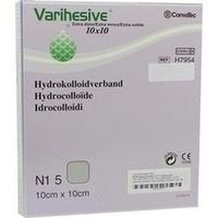 VARIHESIVE extra dünn HKV hydroaktiv 10x10cm, 5 ST, Bios Medical Services GmbH