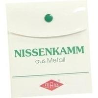 Nissenkamm METALL 102170 BF, 1 ST, Büttner-Frank GmbH
