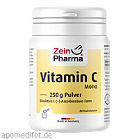Vitamin C Mono Pulver, 250 G, Zein Pharma - Germany GmbH