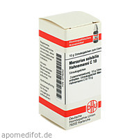 MERCURIUS SOLUB HAHNEM C10, 10 G, Dhu-Arzneimittel GmbH & Co. KG